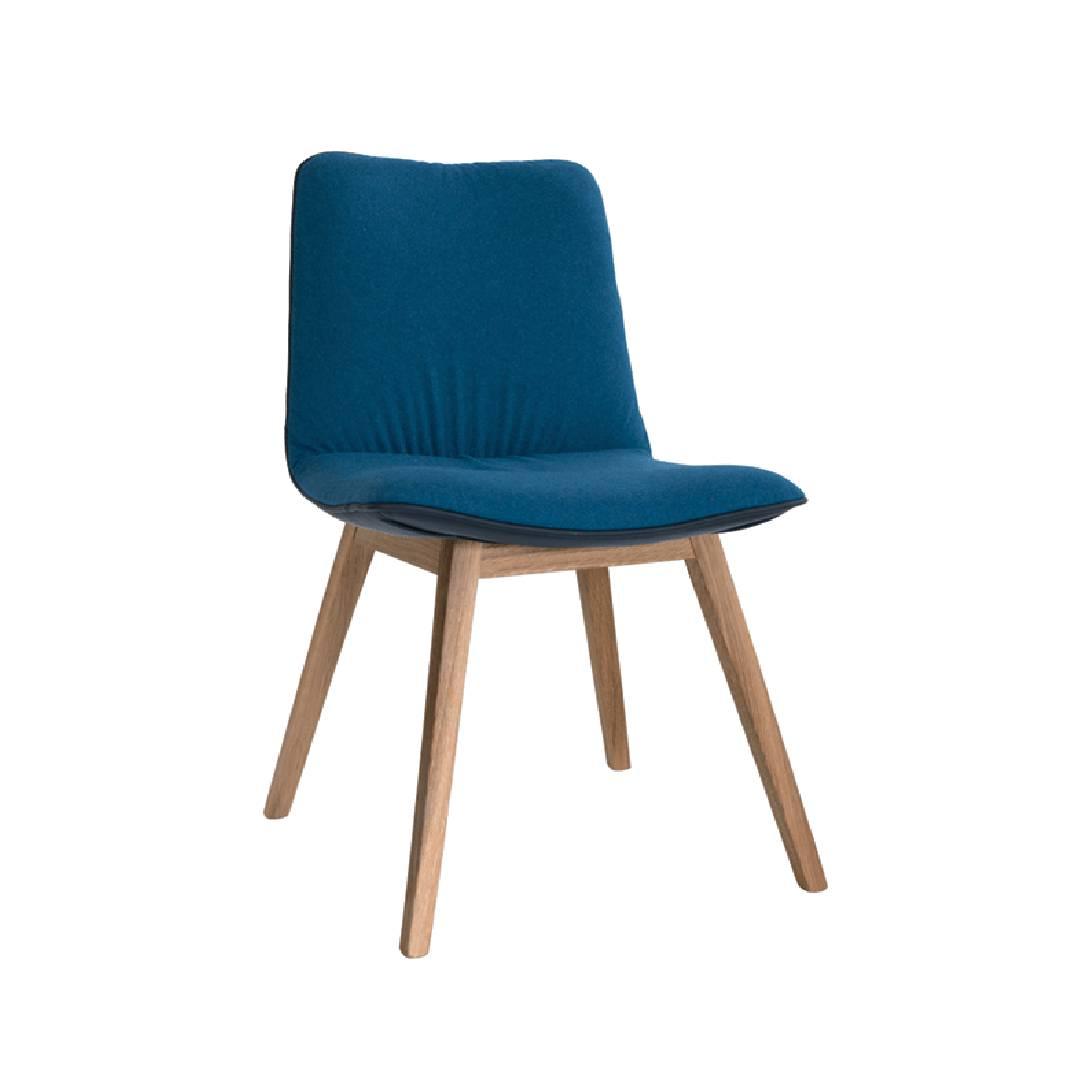 Krzesło Marlo noga dębowa oskrzynia